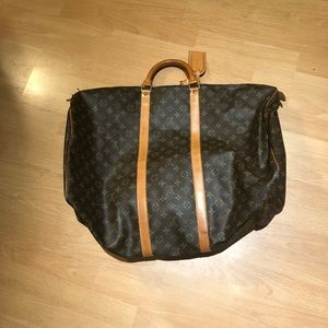 Vintage Louis Vuitton Duffel Bag Keepall